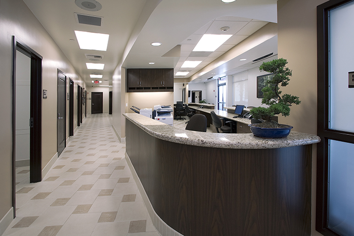 medical facility interior