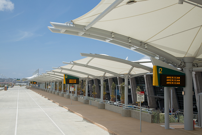 USA Shade awning brochure san diego airport